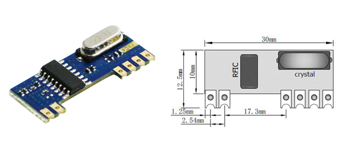 RF Receiver Module without MCU