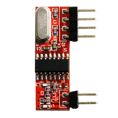 High Sensitivity 433Mhz ASK RF Receiver Module RXC808