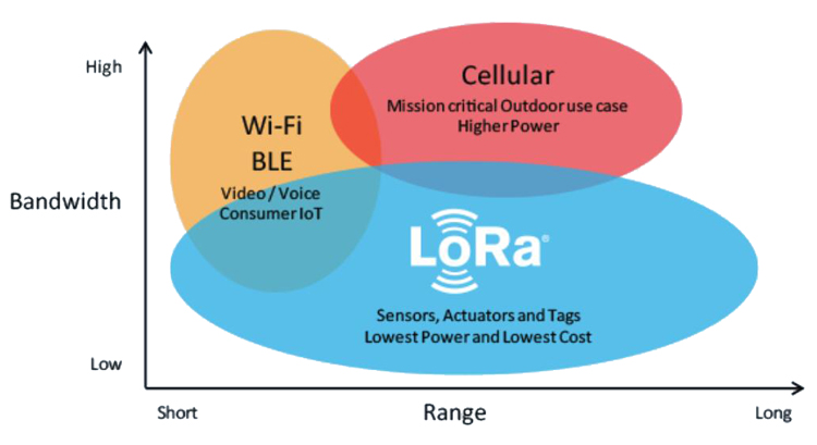 LoRa network diagram